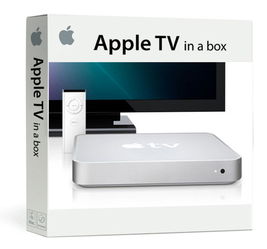 Apple TV box